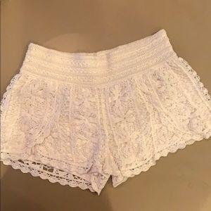 Rewind Crotchet Knit Shorts